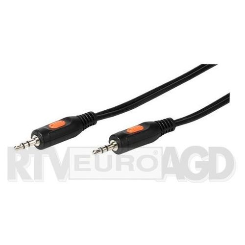Kabel minijack 3.5mm VIVANCO 2.5m Czarny 46045, 46045