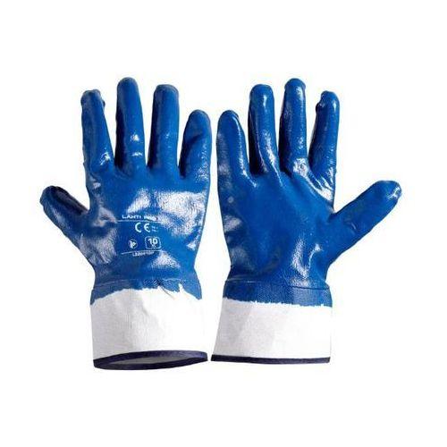 LAHTI PRO Rękawice ochronne powlekane nitrylem rozmiar 10 opakowanie 12 par L220910W (5903755079619)
