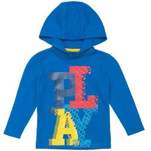 Longsleeve dla małych chłopców JTSML107 - granatowy