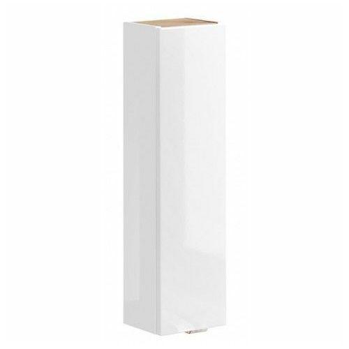 Pionowa wisząca szafka łazienkowa - malta 7x biały połysk marki Producent: elior