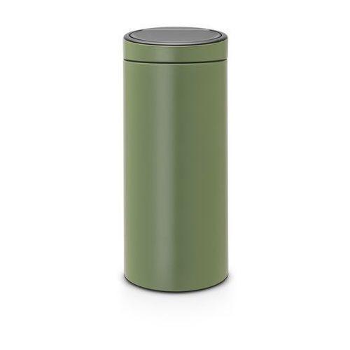 Brabantia - kosz touch bin - 30 l - plastikowe wiaderko - zielony - zielony (8710755115264)