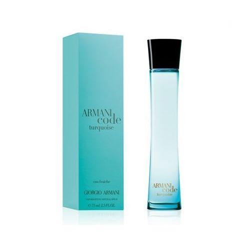 GIORGIO ARMANI Code Turquoise Eau Fraiche Woman 75ml EdT