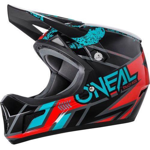 Oneal sonus strike kask rowerowy czarny/kolorowy s | 55-56cm 2018 kaski rowerowe