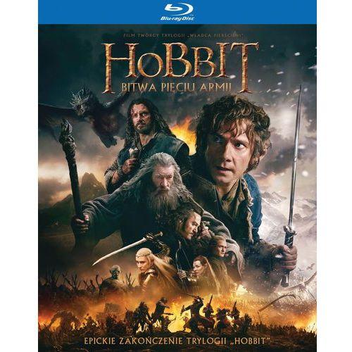 Hobbit: Bitwa Pięciu Armii - Wydanie rozszerzone (3 Blu-ray)