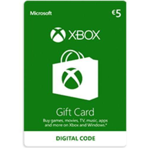Xbox Live €5 Prepaid Card