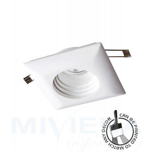Viokef Ceramic oczko kwadratowe 1 biały 11