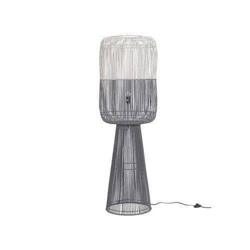 Lampa podłogowa syracuse — bambus — 48,5 × 151 cm (śr. × wys.) marki Vente-unique
