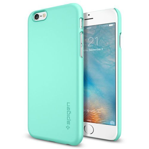 Obudowa Spigen Thin Fit Apple iPhone 6 iPhone 6S Mint - Mint (8809404212604)