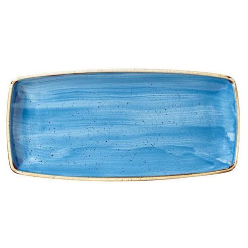 Półmisek prostokątny 295 x 150 mm, niebieski   , stonecast cornflower blue marki Churchill