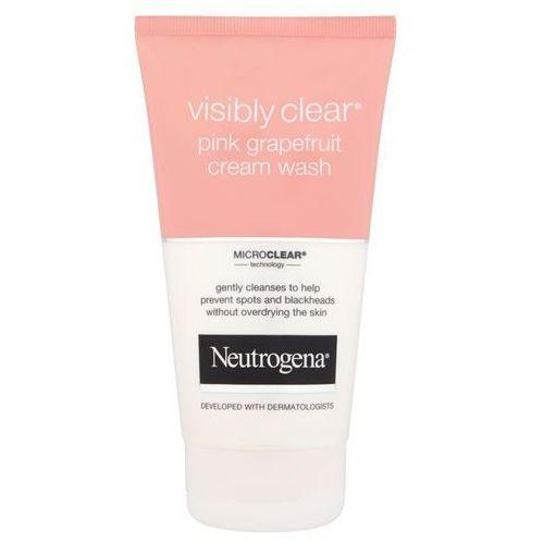 visibly clear pink grapefruit kremowa emulsja oczyszczająca (pink grapefruit cream wash) 150 ml marki Neutrogena
