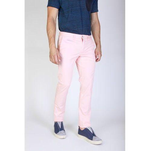 Spodnie męskie JAGGY - J1683T812-Q1-86, kolor różowy