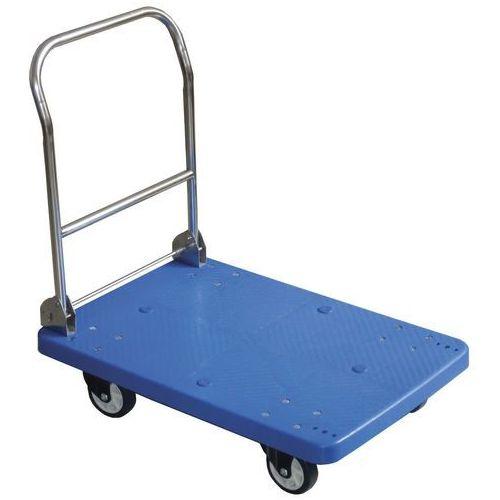 Hendi Wózek platformowy ze składanym uchwytem, 730x480x825 mm | , 810514
