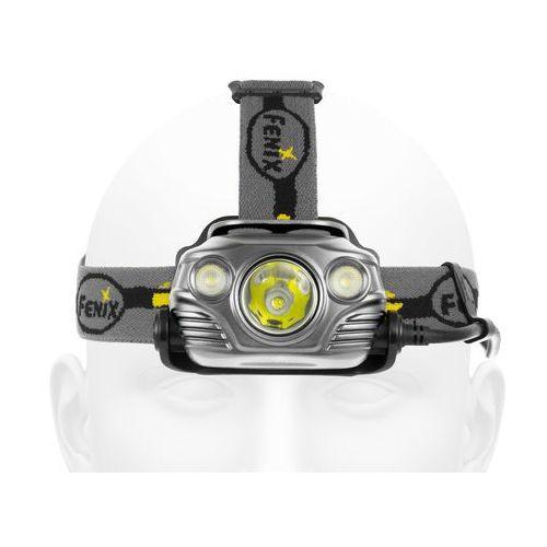 Latarka diodowa hp30r - czołówka (szara) marki Fenix