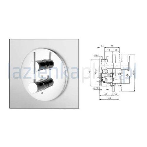 Bateria Zucchetti Spin ZX3017