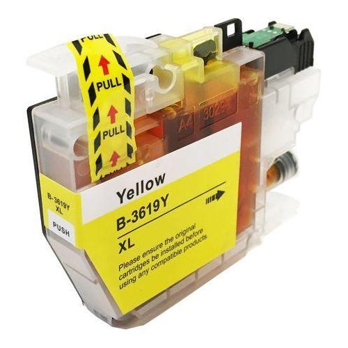 Zastępczy atrament brother [lc-3619xl y] yellow marki Global print