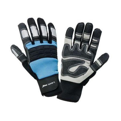 Lahti pro  rękawice warsztatowe czarno-niebieski rozmiar 11 /l280711k/ (5903755052872)