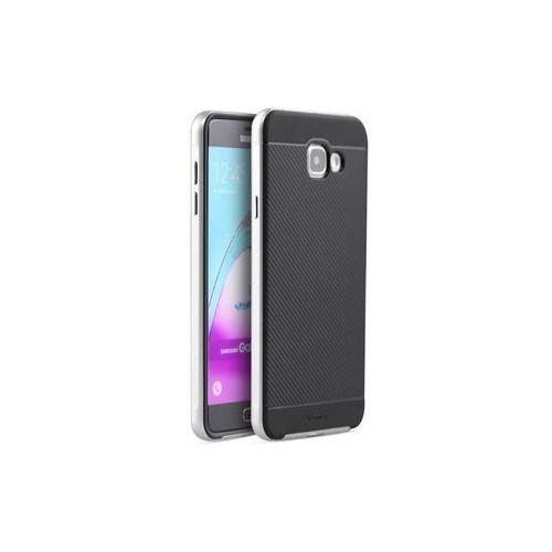 Obudowa iPaky Premium Hybrid Samsung Galaxy A5 2016 Srebrny - Srebrny (99999179)