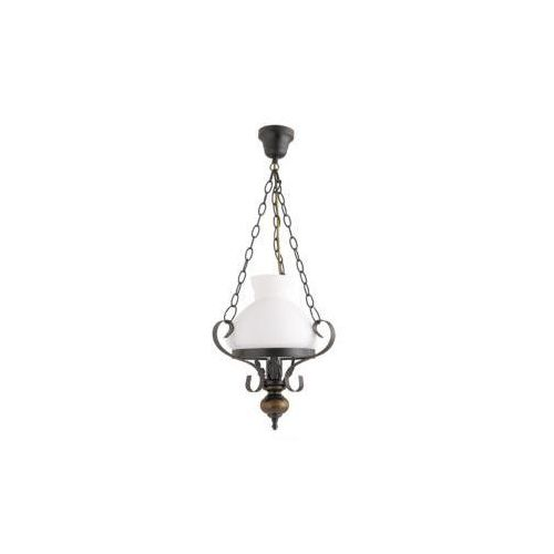 Rabalux Lampa wisząca petronel 1x60w czarny