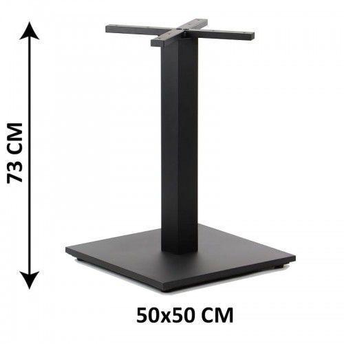 Podstawa stolika SH-2011-3/B, 50x50 cm, (stelaż stolika), kolor czarny