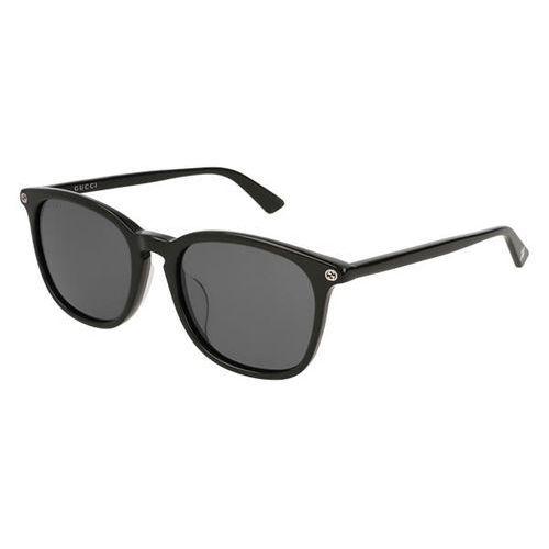Okulary słoneczne gg 0154sa asain fit 001 marki Gucci