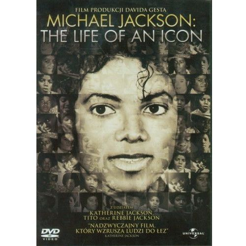 Michael Jackson. The Life as an Icon (DVD) - David Gest (5900058129195)