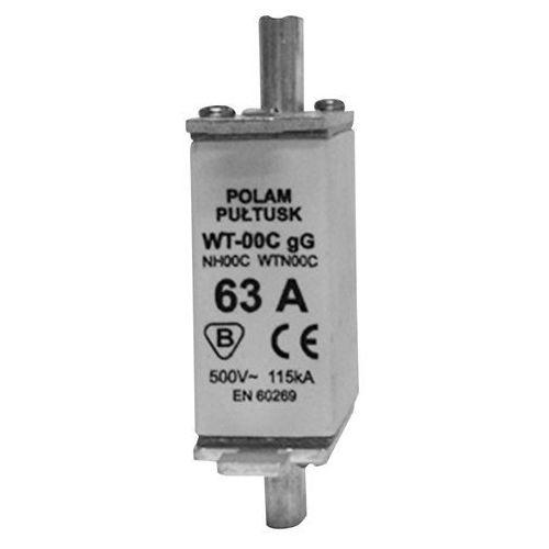 Wkładka bezpiecznikowa WT00C GG 80A 500V ETI 004111437 (3838895287063)