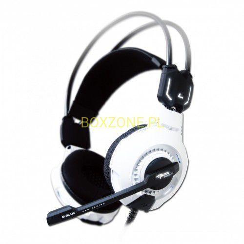 Słuchawki E-Blue Mazer Type X 7.1 (EHS015WH) Darmowy odbiór w 21 miastach! Raty od 8,32 zł