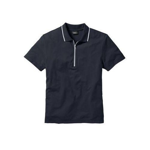 Shirt polo regular fit ciemnoniebieski marki Bonprix