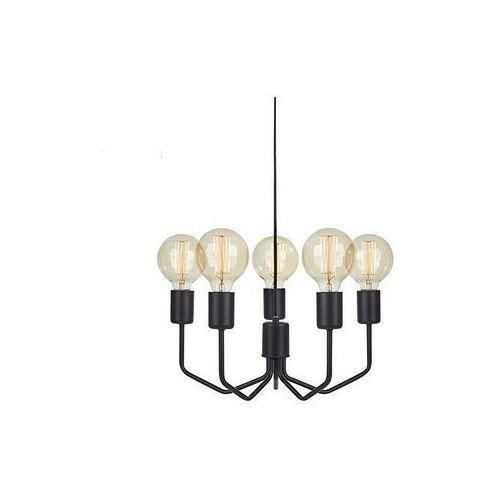 Lampa wisząca Markslojd City 107086 5x60W E27 czarna (7330024572157)
