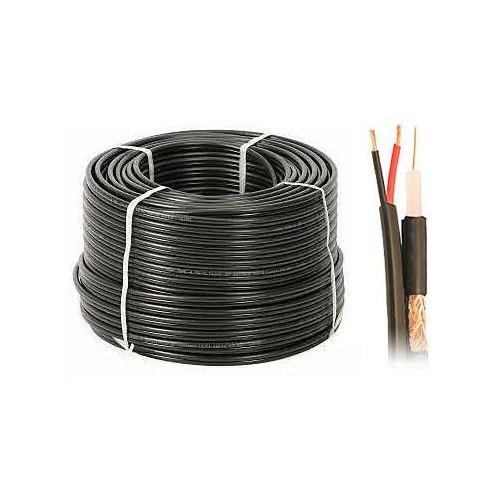 RG-59#43;2x0,50 Kabel koncentryczny żelowany zewnętrzny, 01113 RG-592x0,50