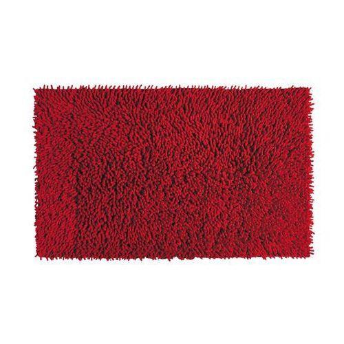 Dywanik łazienkowy VELVET CZERWONY 50 x 80 cm SENSEA (3276200249366)