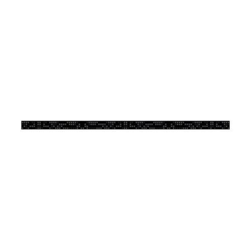 Listwa szklana B&W EFEKTA 2.3 X 60 CERAMIKA COLOR