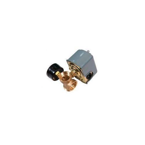 OKAZJA - Zestaw manometr włącznik ciśnieniowy wyjscie tłoczone 5-cio drożne do hydroforu marki Omnigena