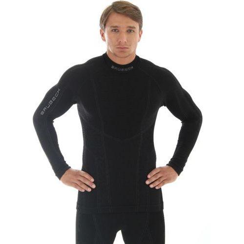 Brubeck ls10210 bluza męska extrememerino czarna (2010000316825)