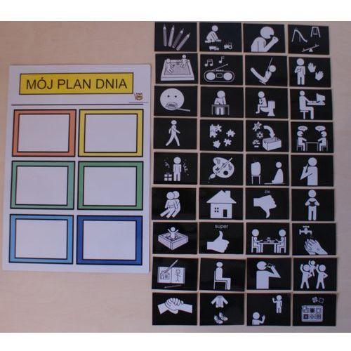 Mój plan dnia w przedszkolu / w szkole - wersja magnetyczna