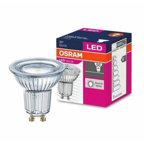 Osram Zarówka led value par16 50 36° 4,7w/840 230v gu10 (4058075055155)