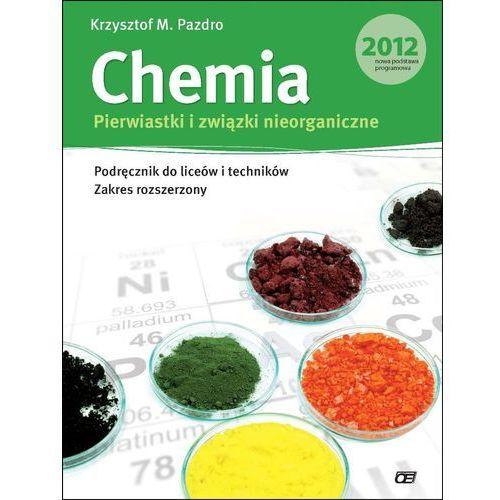 Chemia Pierwiastki i związki nieorganiczne Podręcznik, oprawa miękka