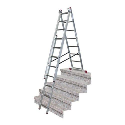 Drabina wielofunkcyjna Krause Corda 3 x 8 z funkcją schody (4009199033383)