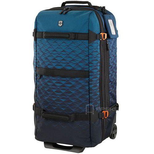 vx touring expandable large duffel duża torba na kółkach - dark teal marki Victorinox