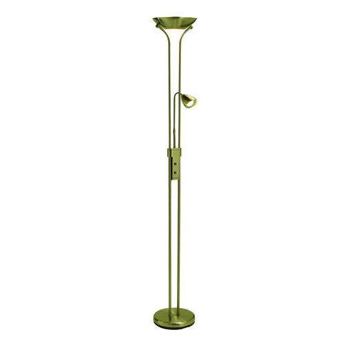 DETROIT 111242 mosiądz - lampa podłogowa Markslojd (7392254111223)