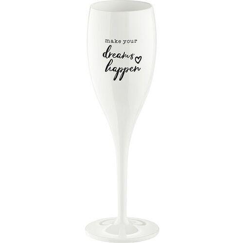 Kieliszek do szampana Cheers z napisem Dreams Happen (4002942444757)