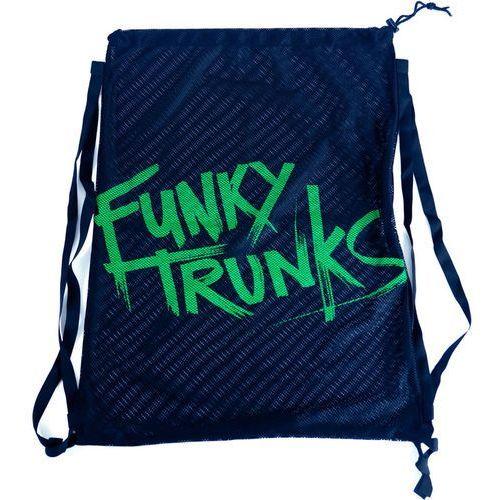 mesh gear torba zielony/niebieski 2018 akcesoria do pływania marki Funky trunks