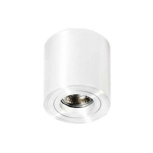 Spot lampa sufitowa mini bross gm4000 wh natynkowa oprawa metalowa downlight tuba biała marki Azzardo