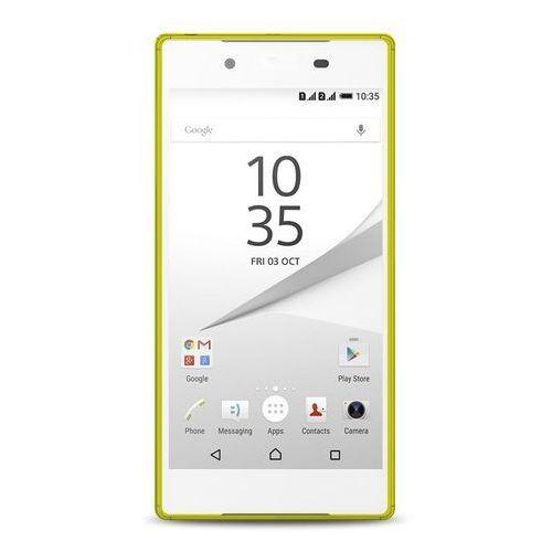 PURO Ultra Slim 0.3 Cover - Zestaw etui + folia na ekran Sony Xperia Z5 (limonkowy) Odbiór osobisty w ponad 40 miastach lub kurier 24h (8033830151460)