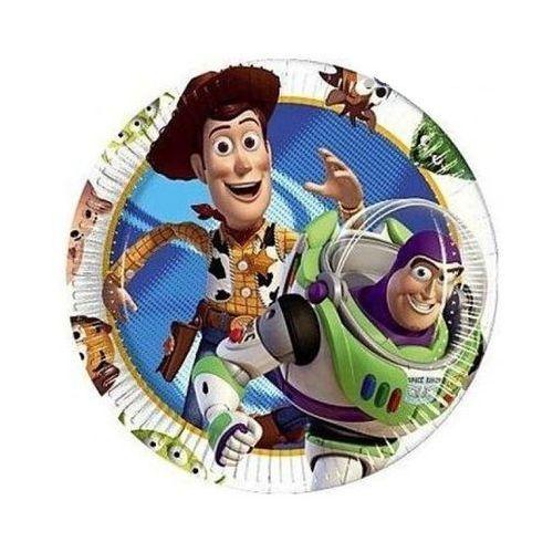 Talerzyki śr. 20 cm - przebrania i dodatki dla dorosłych - Toy Story