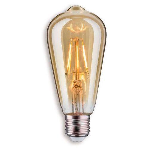 E27 4w żarówka rustykalna led, złota marki Paulmann