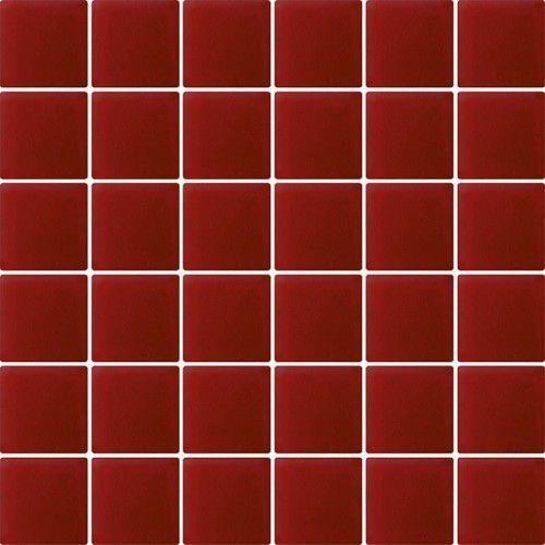 Paradyż Mozaika szklana karmazyn (kostka 4,8 x 4,8) 29,8 x 29,8