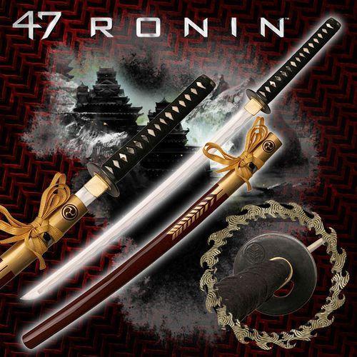 Usa Ręcznie kuty miecz samurajski katana oishi z filmu 47 roninów (mc-47r002)