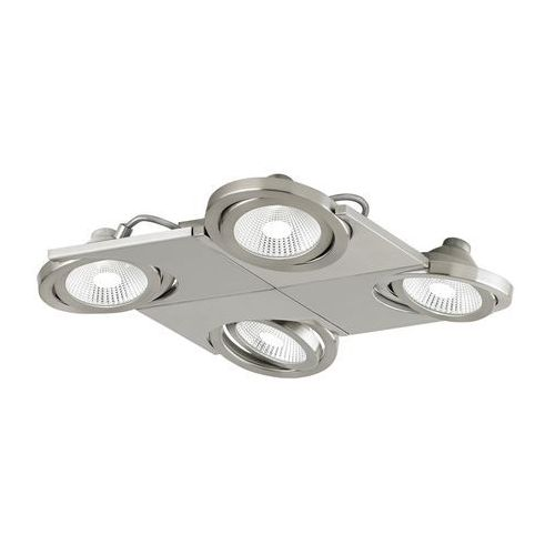 Plafon Eglo Brea 39251 oprawa lampa sufitowa spot 4x5W LED satyna, 39251