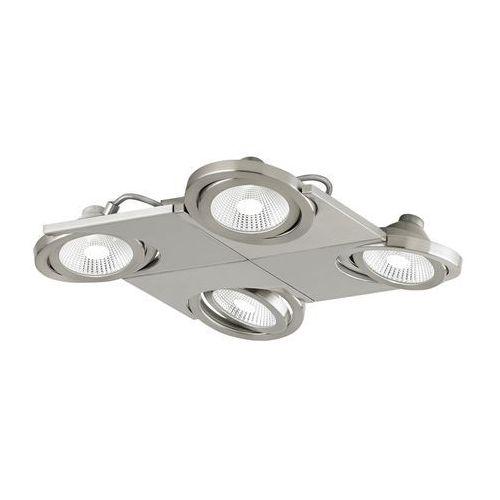 Plafon Eglo Brea 39251 oprawa lampa sufitowa spot 4x5W LED satyna